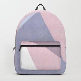 Nude Tones Geometry Backpack