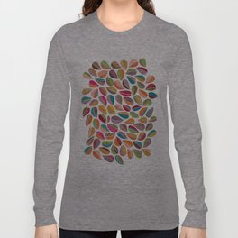 Leaf Colorful Long Sleeve T-shirt