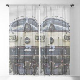 Cab Forward Sheer Curtain