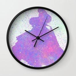 Princess Aurora Silhouette Wall Clock