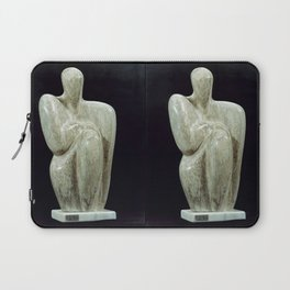 The Philosopher by Shimon Drory Laptop Sleeve