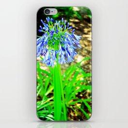 PurpleFlowers2 iPhone Skin