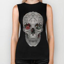 Lace Skull 2 Biker Tank