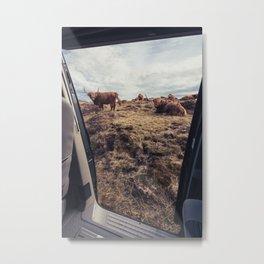 A Scottish view Metal Print
