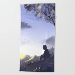 In the morning light Beach Towel