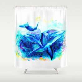 Dolphins Shower Curtain
