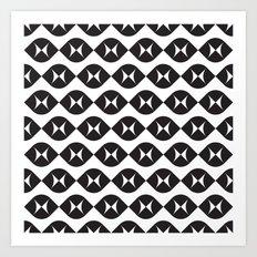 Geometric Pattern #172 Art Print