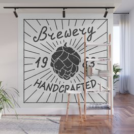 Brewery Handcrafted Fashion Modern Design Print! Beer style Wall Mural
