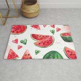 Luscious Watermelon Rug