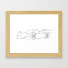 Porsche 911 GT1 Framed Art Print
