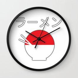 Ramen - Llamen Wall Clock