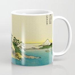 Enoshima in Sagami Bay Japan Coffee Mug