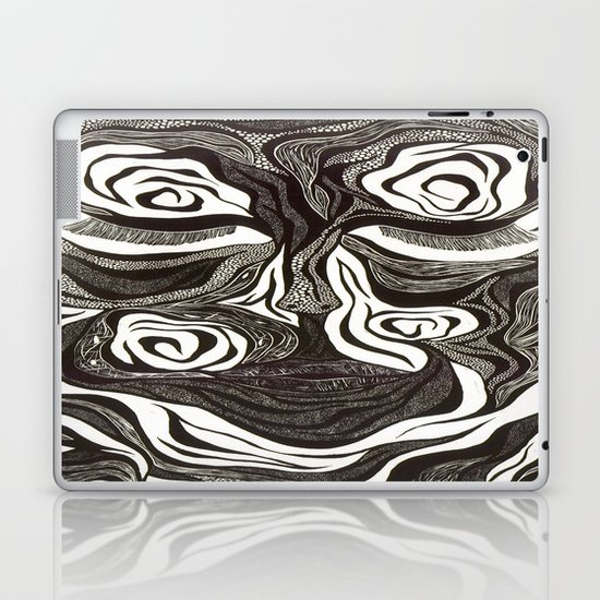 Peace Within The Battle Laptop & iPad Skin