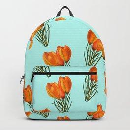 Yellow Crocuses Backpack