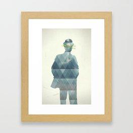 the_horror Framed Art Print