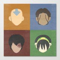 avatar Canvas Prints featuring Avatar by Raquel Segal