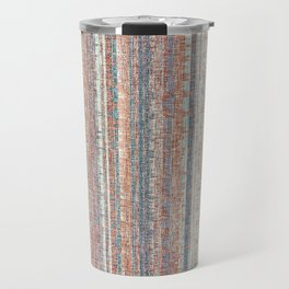 Abstract background textile Travel Mug