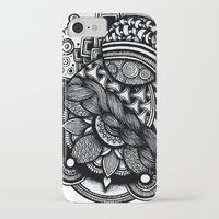 zentangle iPhone & iPod Cases featuring zentangle by goyye