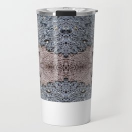 Brown Crumble Concrete Travel Mug