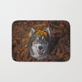 Happy Autumn Bath Mat