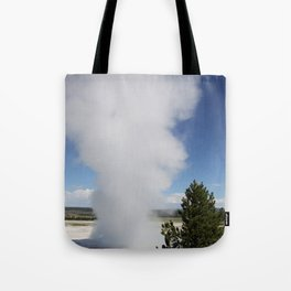 Cloud Of Steam and Water Tote Bag