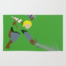 Hero in Battle Rug