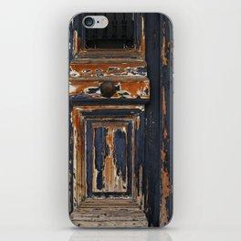 Neoclassical door iPhone Skin