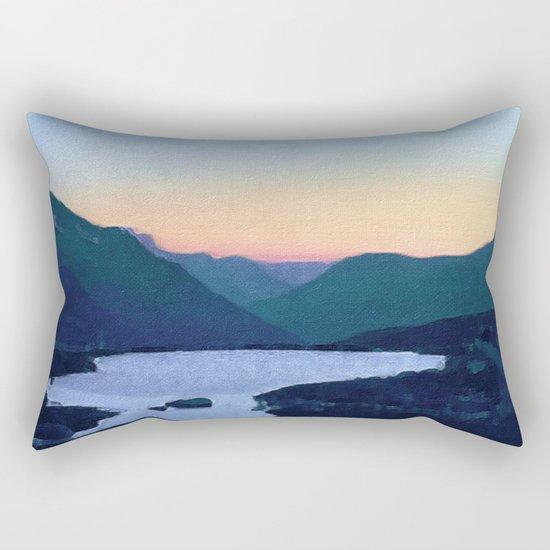 Obertalbach, Sustenpass, Swiss alps Rectangular Pillow