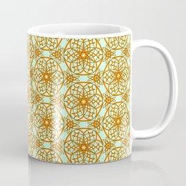 Spirit of the Cimarron Copper Glow Western Spur Radial Design Spirit Organic Coffee Mug