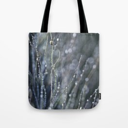 dewy weed abstract Tote Bag