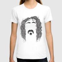 zappa T-shirts featuring Frank Zappa by Sára Szabó
