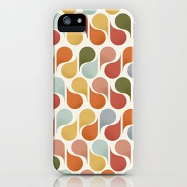 retro pattern no4 iPhone Case