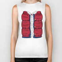 mcfly Biker Tanks featuring The McFly by antastic