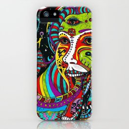 Psychedelic Trip iPhone Case