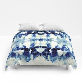 Tie Dye Blues Comforters