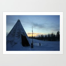 Life In The Arctic Art Print