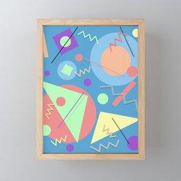 Memphis #49 Framed Mini Art Print