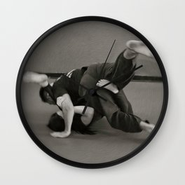 Jiu Jitsu Wall Clock