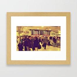 The Departure Framed Art Print