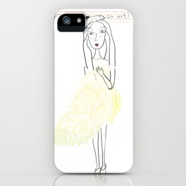 Marion  iPhone Case