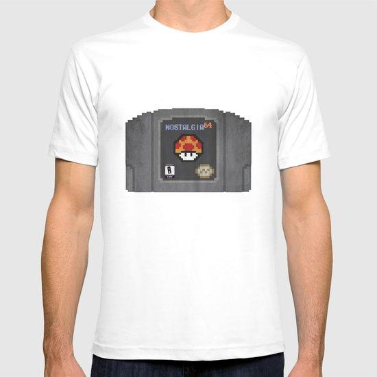 Nostalgia in a Nintendo 64 Cartridge T-shirt