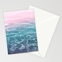 Pink Blue Ocean Dream #1 #water #decor #art #society6 Stationery Cards