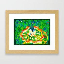 WORLD HERITAGE ART Framed Art Print