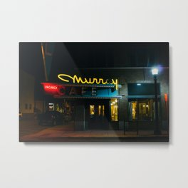 Murray Cafe - Livingston, MT Metal Print
