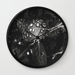 Garden Leaves Manipulation 2 Wall Clock