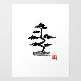 bonzai Art Print