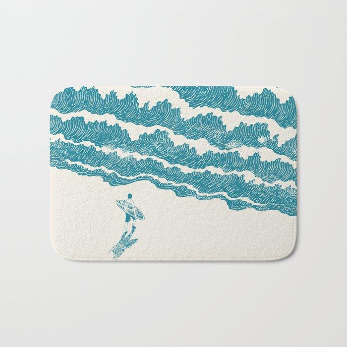 To the sea Bath Mat