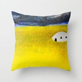 Future Past Throw Pillow