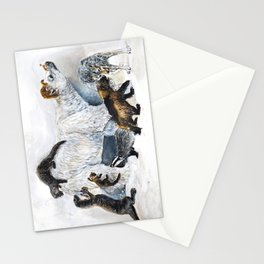 Awesome mustelids Stationery Cards