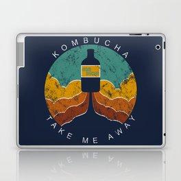 """Kombucha """"Take Me Away"""" Laptop & iPad Skin"""